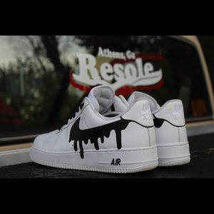 new product cb7e7 b949a Nike Shoes - Custom Drippy check Air Force 1